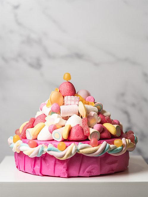 Bouquet à croquer - Gâteau en bonbons