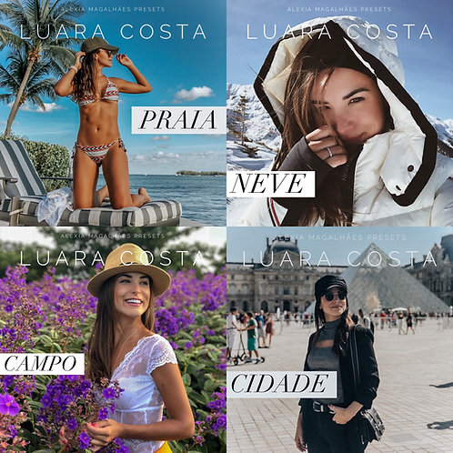 Pack Viagens - 5 presets