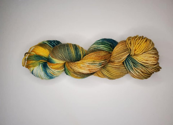 Sunshine on my Shoulders Hand Dyed