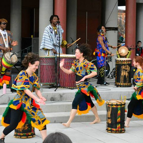 Wontanara Performs at Franco Fest