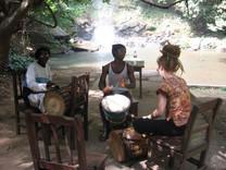 Picturesque drum class