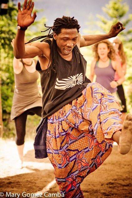 Mohamed teaches at Dundun Village