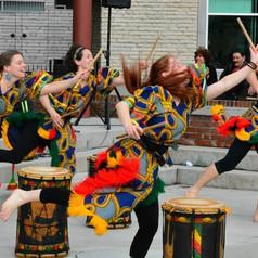 Dundun Dance at Franco Fest