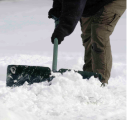 snow shoveling services