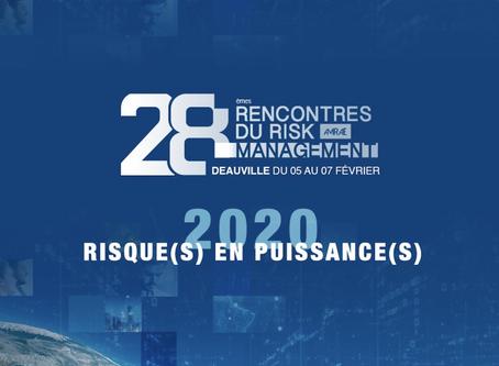 Christophe Adrien présent aux rencontres de l'AMRAE à Deauville