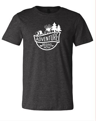 Adventure Begins Now t-shirt
