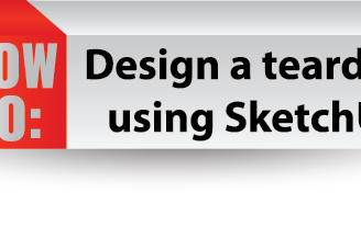 HOW TO: Design a teardrop using SketchUp