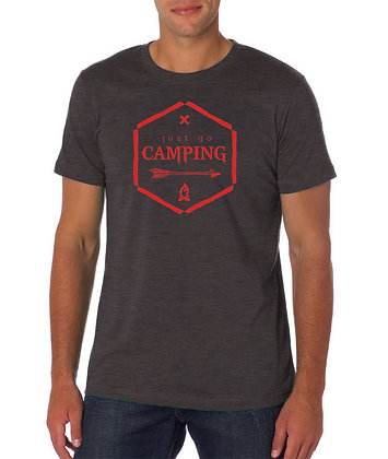 Just Go Camping super soft tee