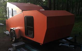 Careful planning shows in unique home-built camper