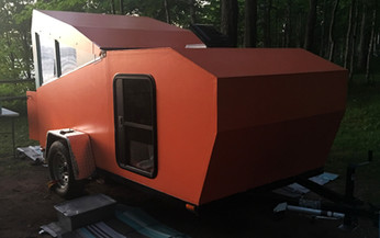 Careful planning shows in unique home-built camper