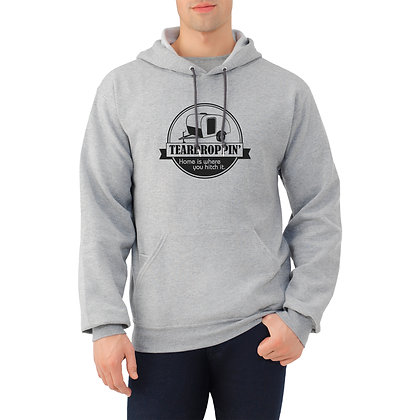 Teardroppin' Home is Where You Hitch It - hooded sweatshirt