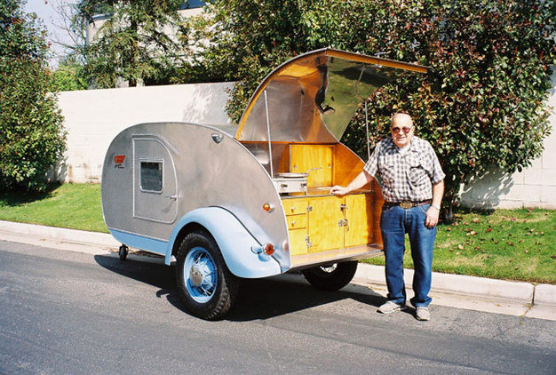 The History of Teardrops: Kenskill Trailers