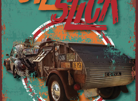 COVER STORY: Oil Slick - Unique teardrop and tow vehicle capture attention