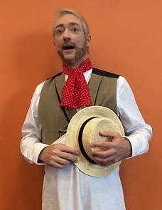 "William Stock at the musical ""Scrooge!"" Kinneksbond Centre Culturen Mamer, Luxembourg, November 2017"