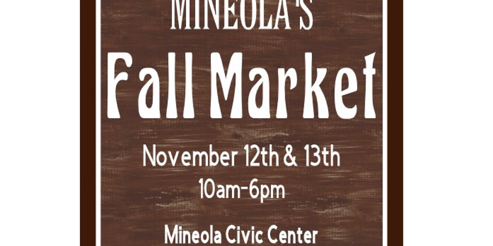 Fall Market and Car Show