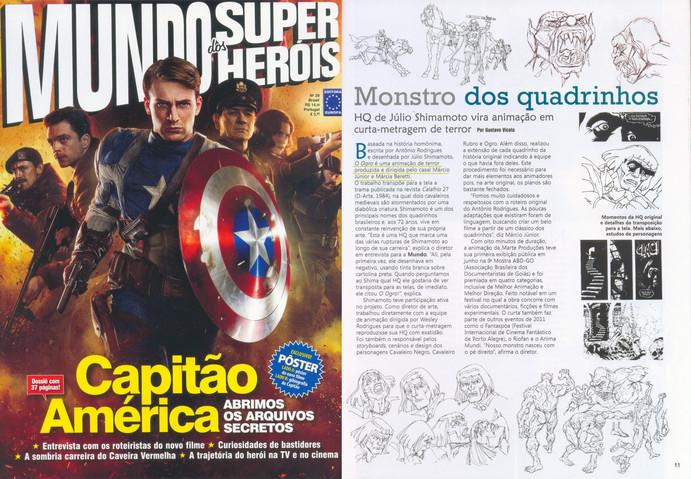 Filme O Ogro - Mundo dos Super Heróis (nº28) - 2011