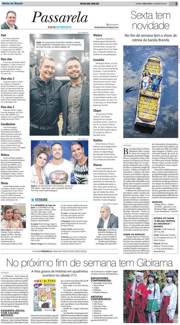 GIBIRAMA -  Diário da Manhã - 7 de março de 2017