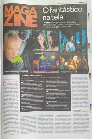 CRASH 2020 - Jornal O Popular - Magazine - Capa - Dezembro/2020
