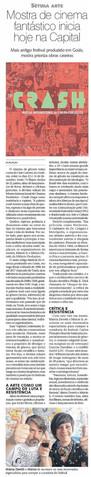 Mostra CRASH - Diário da Manhã - DM Revista - 13 de dezembro de 2018
