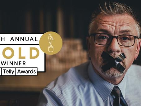 WKM Receives Gold Telly Award