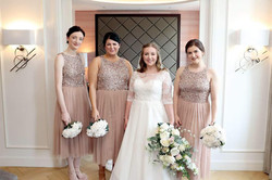 Megan and her Bridesmaids.