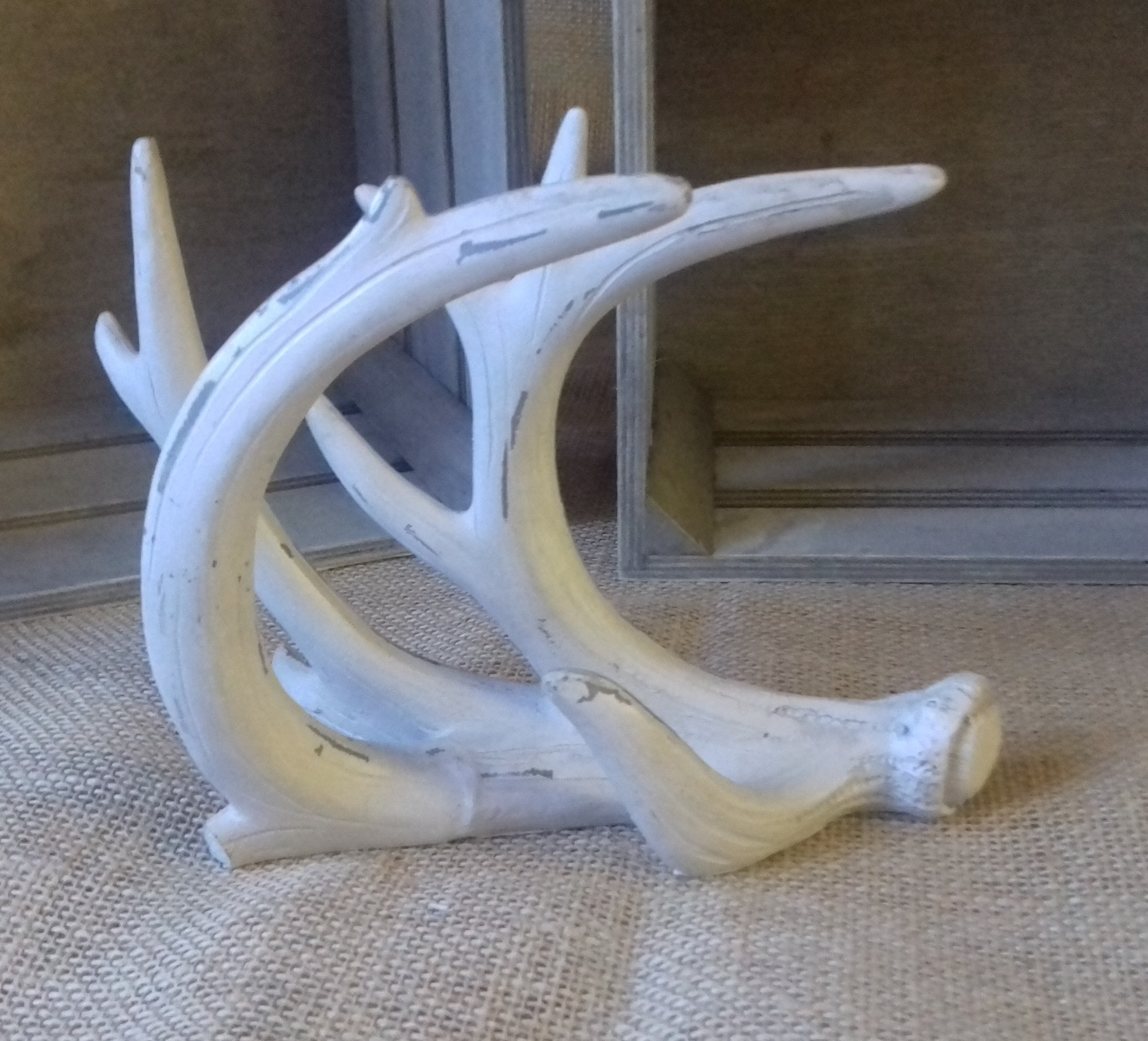 Stag horn decor