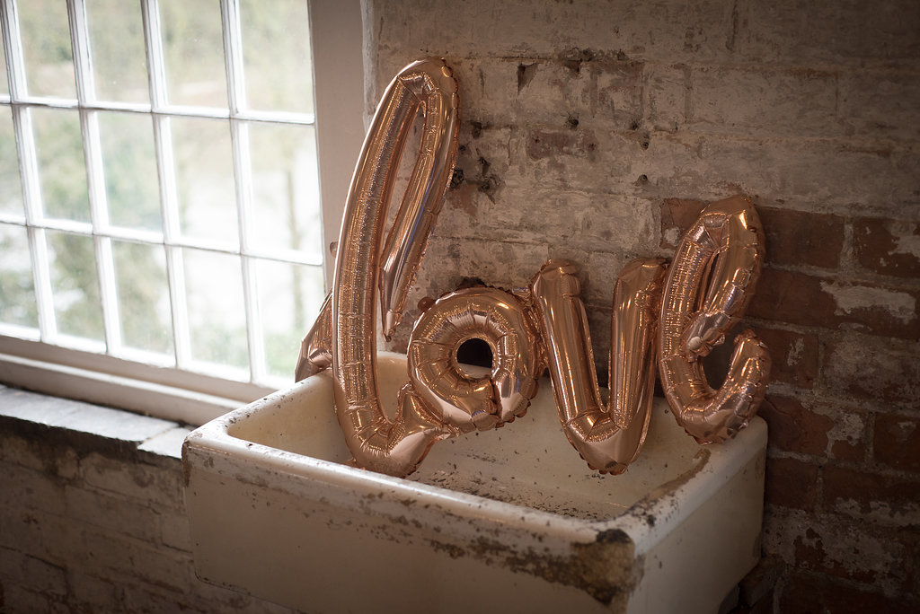 copper love balloon