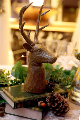 Stags head decor