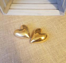Gold heart decor