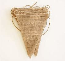 Plain hessian bunting