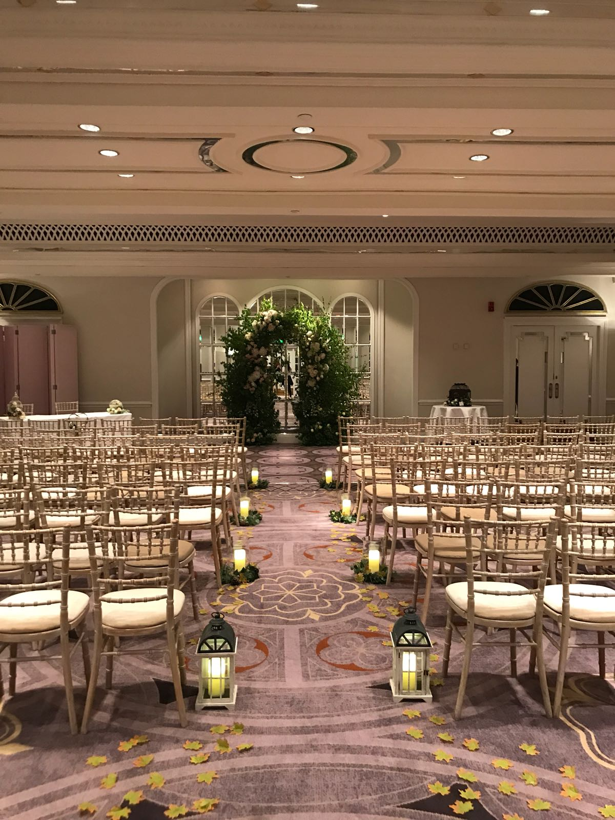 Ceremony Room at the Sheraton Grand