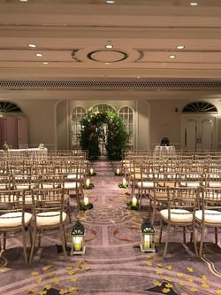Ceremony Room at the Sheraton Grand