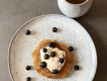 Vegane Lebkuchen Pancakes - Merry Xmas