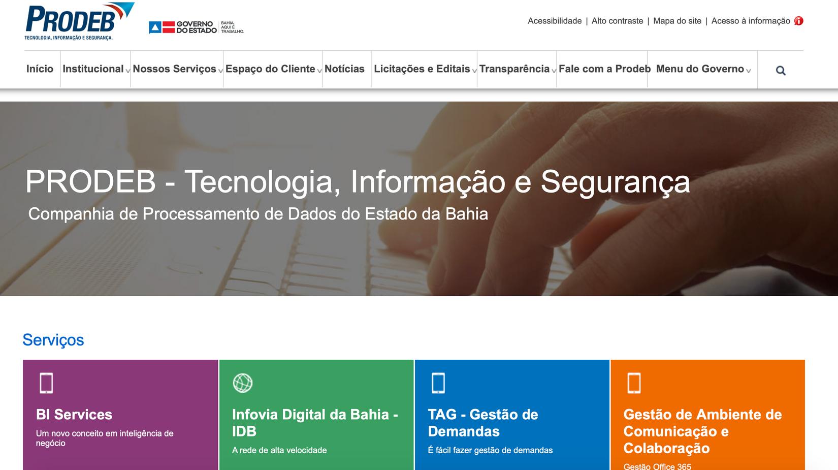 Bahia apresenta soluções desenvolvidas para dar suporte à população durante pandemia