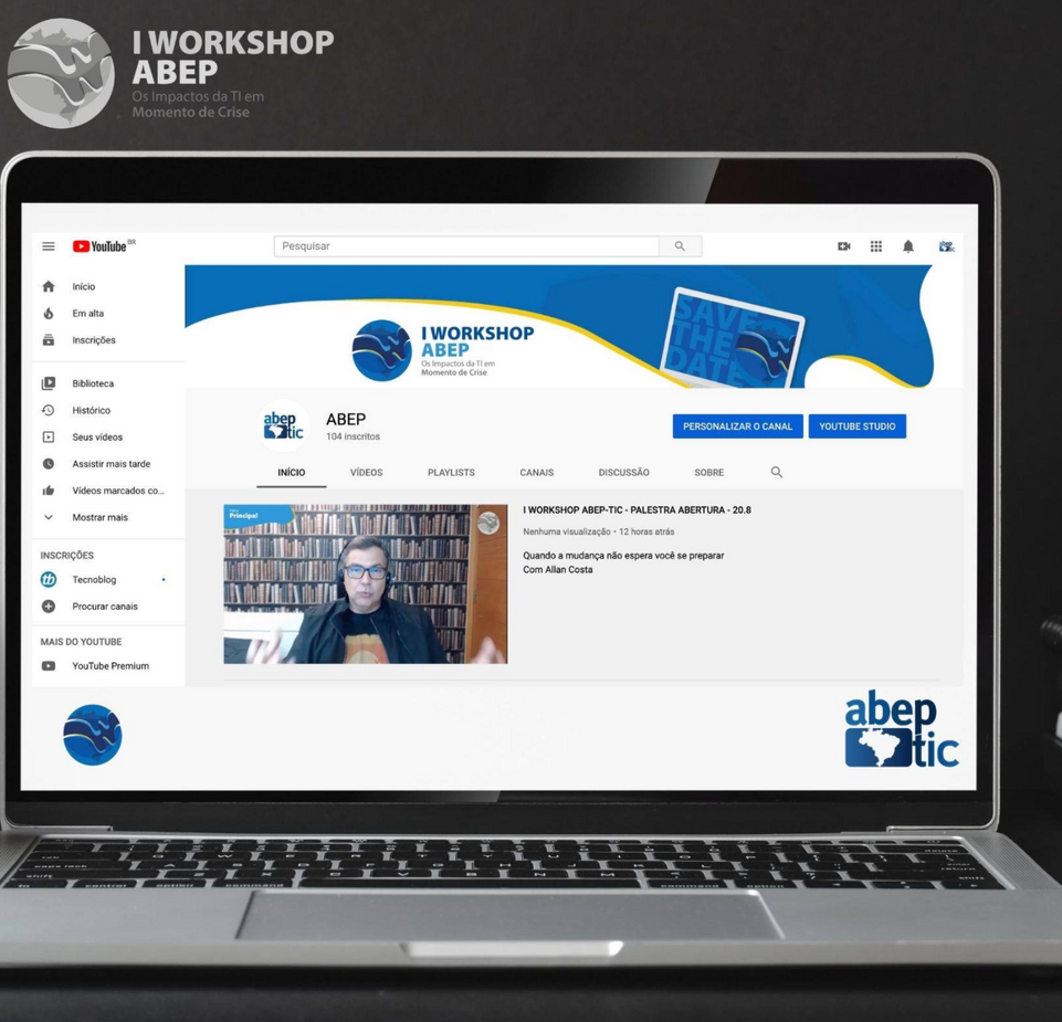 ABEP-TIC realiza seu primeiro WORKSHOP totalmente digital