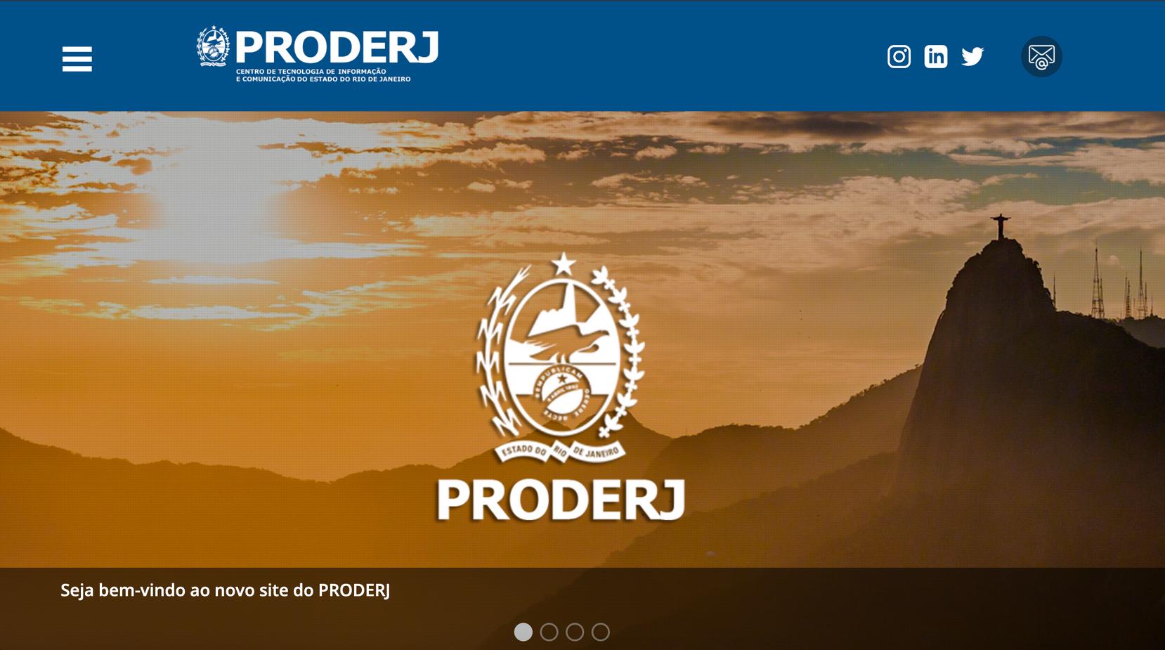 PRODERJ, afiliada ABEP no RJ, divulga seu novo site