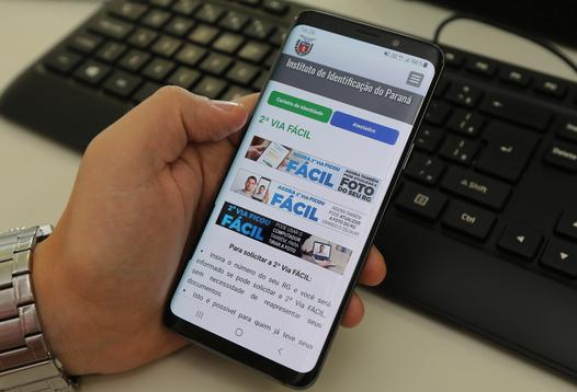 Solução permite a solicitação da 2ª Via do RG online