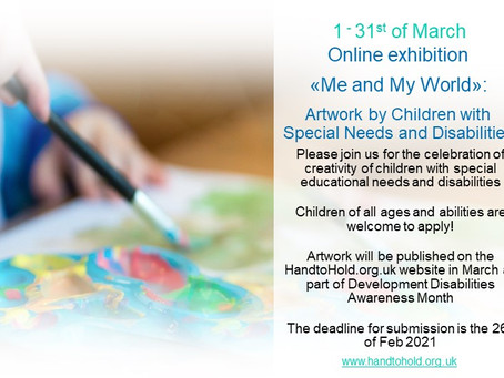 Calling All Young Artists with Special Needs and Disabilities