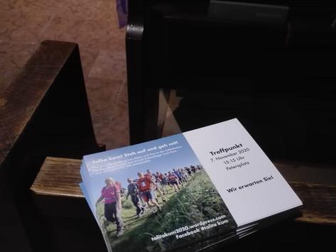 Postkarten an den Papst – Unterstützung von Zuhause