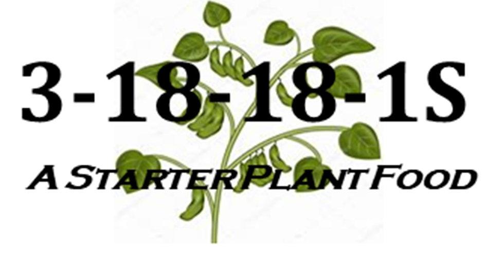 3-18-18-1S Starter Plant Food (2.5)