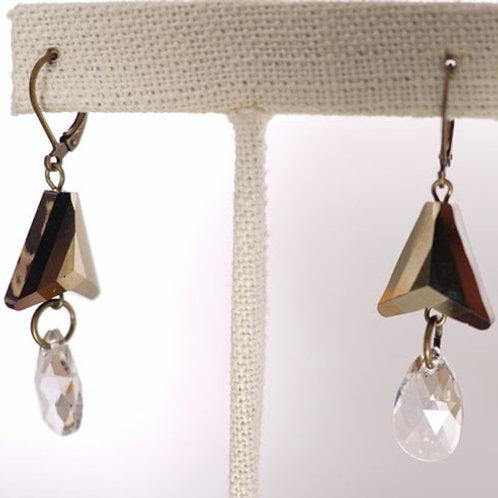 Swarovski arrow earrings