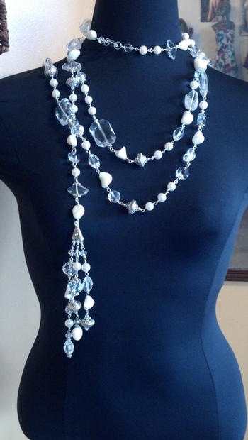 1. Mother of Pearl body necklace