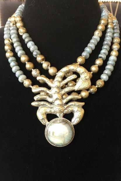 11. Scorpion pyrite