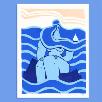 Géante de l'eau