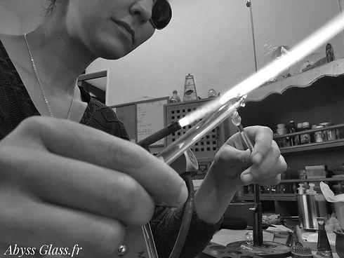 Bijoux en verre, artisanat Hautes-Pyrnées