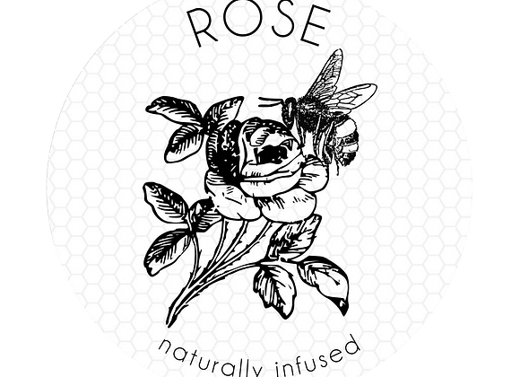 Rose infused HONEY