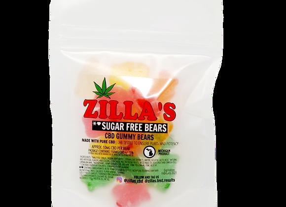 Mix Flavor CBD Sugar Free Gummy Bears