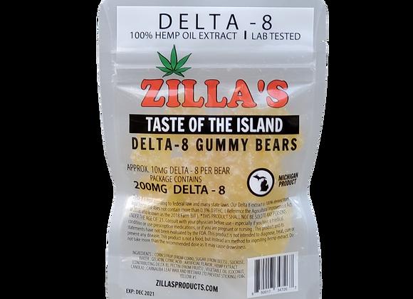 DELTA-8 Taste of the Island Gummy Bears