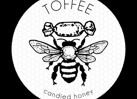 Toffee RAW Star Thistle HONEY with CBD