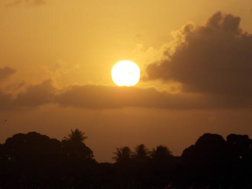Pôr do sol esplêndido> Dayana Silva